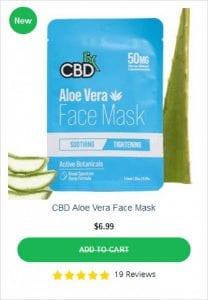 CBDFX Aloe Vera Face Mask