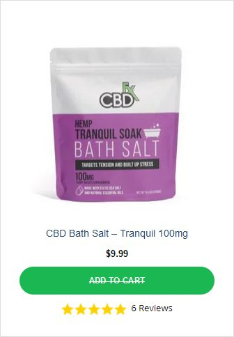 CBDFX Bath Salt 1