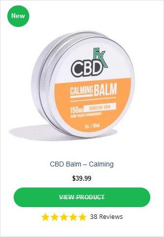 CBDFX Calming Balm