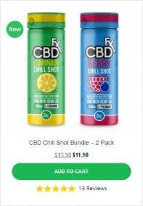 CBDFX Combo Chill Shots