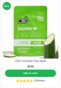 CBDFX Face Mask Cucumber
