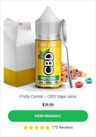 CBDFX Fruity Cereal