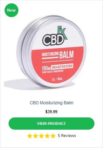 CBDFX Moisturizing Balm