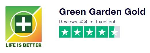 Gren Garden Gold Trustpilot Rating