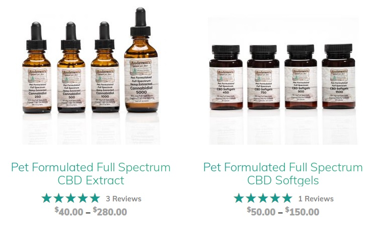 Ambery Gardens CBD Pet Remedies