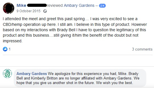 Ambery Gardens Facebook reviews 3