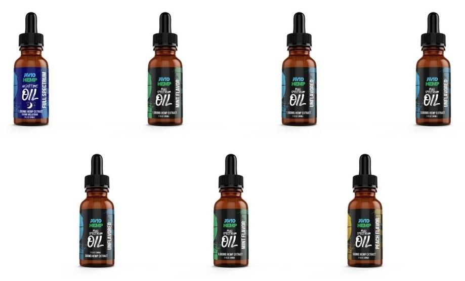 Avid Hemp CBD Oils