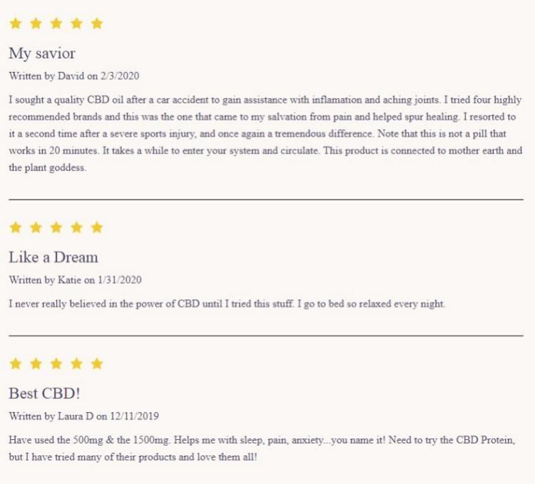 Evo Hemp CBD Tincture Reviews