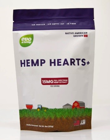 Evo Hemp Hearts+
