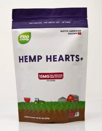 Evo Hemp Hearts+