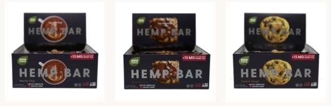 Evo Hemp Protein Bars