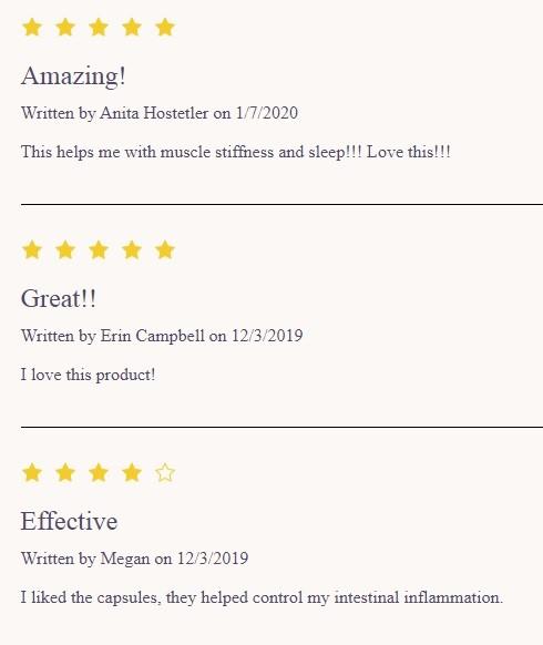 Evo Hemp Softgel Capsules Reviews