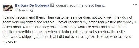 Evo Hemp User Review 2