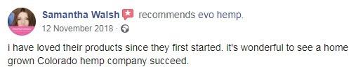 Evo Hemp User Review 5