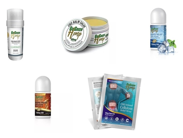 GoGreen Hemp Active Lifestyle Products