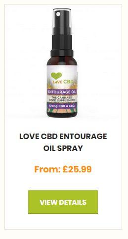 Love CBD - Entourage Oil Spray