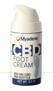 Myaderm CBD Foot Cream