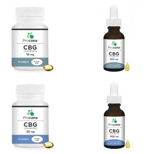 Procana CBG Products