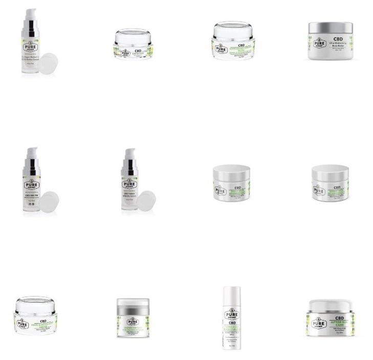 Pure Hemp CBD Beauty Products