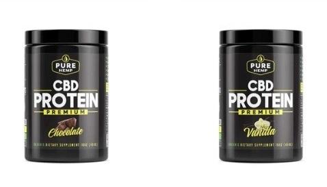 Pure Hemp CBD Protein