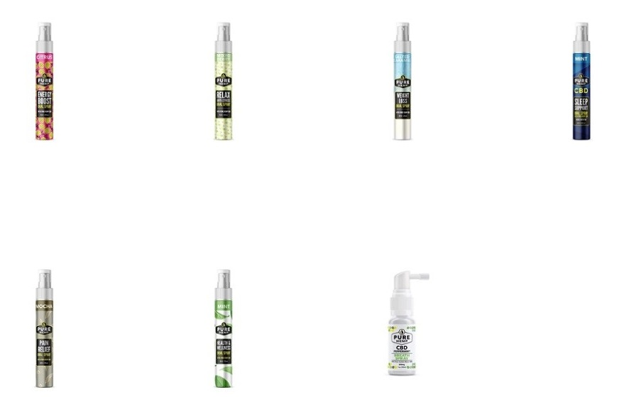 Pure Hemp CBD Sprays