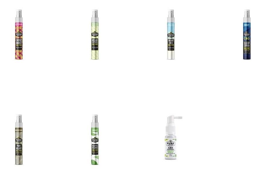 Pure Hemp CBD Sprays
