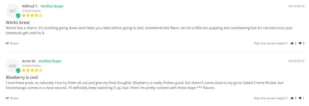 Pure Hemp CBD Syrups reviews