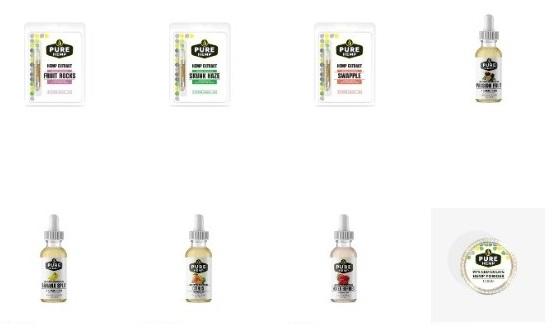 Pure Hemp CBD Vape Products