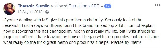 Pure Hemp User Review 3