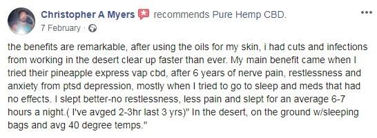 Pure Hemp User Review 4