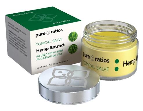 Pure Ratios CBD Hemp Extract Topical Salve