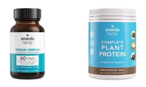 Ananda Hemp Hemp Supplements
