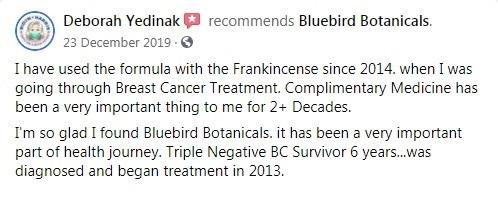 Bluebird Botanicals Customer Review 6