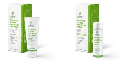 CBDMedic CBD Arthritis Related Products