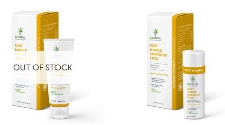 CBDMedic CBD Foot Related Products