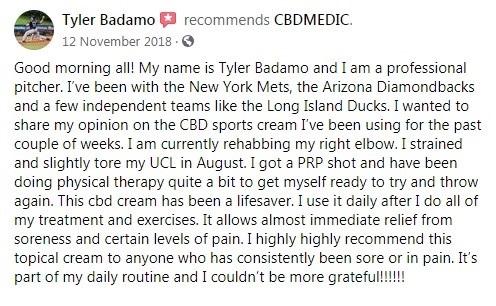 CBDMedic Customer Review 6