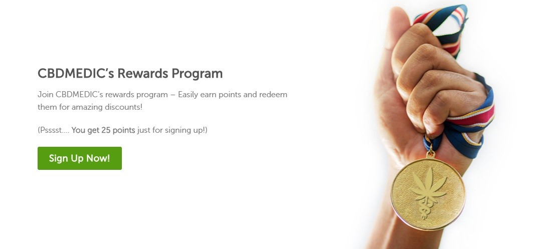 CBDMedic Rewards Program