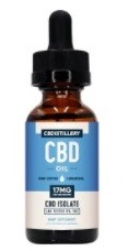 CBDistillery THC-Free Pure CBD Oil Tincture