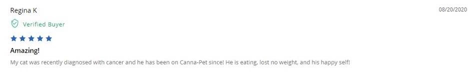 Canna Pet CBD for Cats Customer Reviews