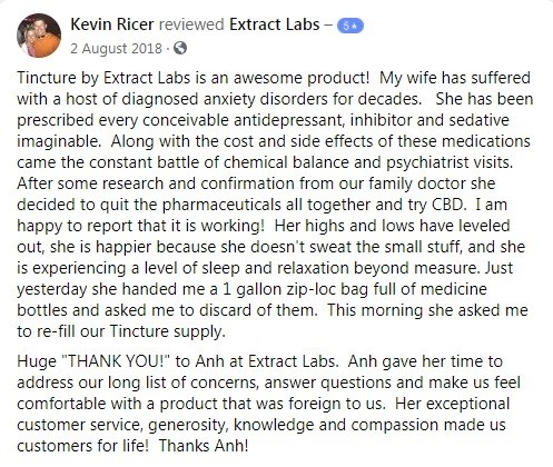 Extract Labs Customer Review 2