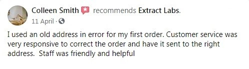 Extract Labs Customer Review 4
