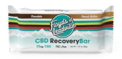 Floyds of Leadville CBD Recovery Bar