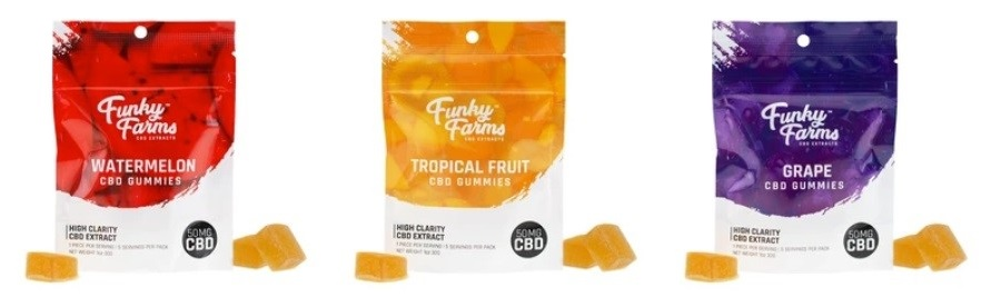 Funky Farms CBD Edibles
