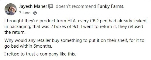 Funky Farms Customer Review