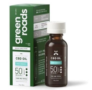 Green Roads Broad Spectrum CBD Oil
