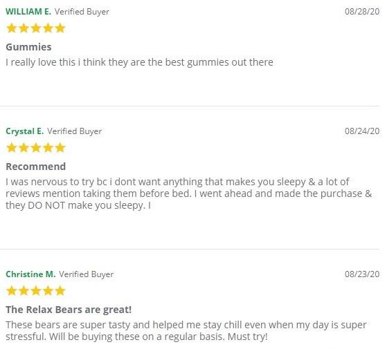 Green Roads CBD Gummies Customer Reviews