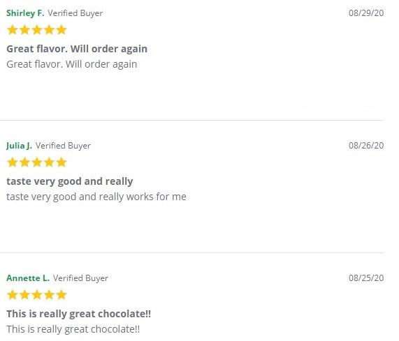 Green Roads Full Spectrum CBD Chocolate Customer Reviews