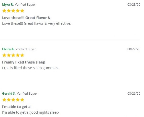 Green Roads Sleepy Zs Customer Reviews