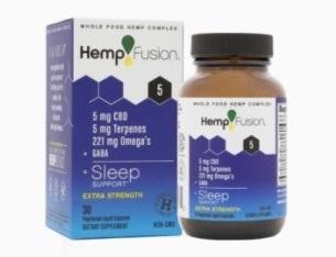 HempFusion CBD Sleep Capsules