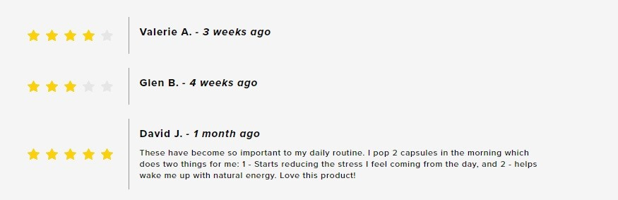 HempFusion Energy CBD Capsules Customer Reviews